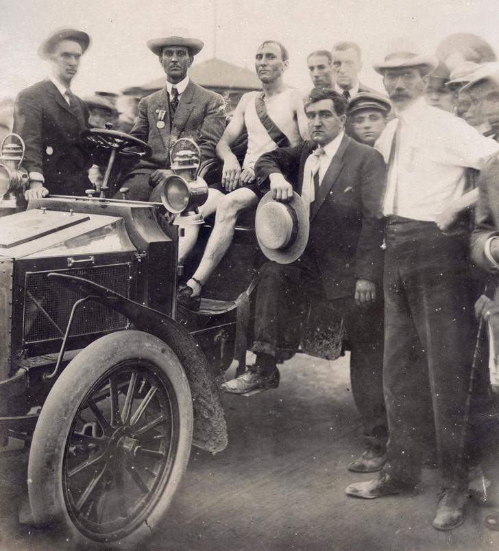 Фото №9 - Олимпийский марафон 1904 года: комедия абсурда и сюжет для Тарантино