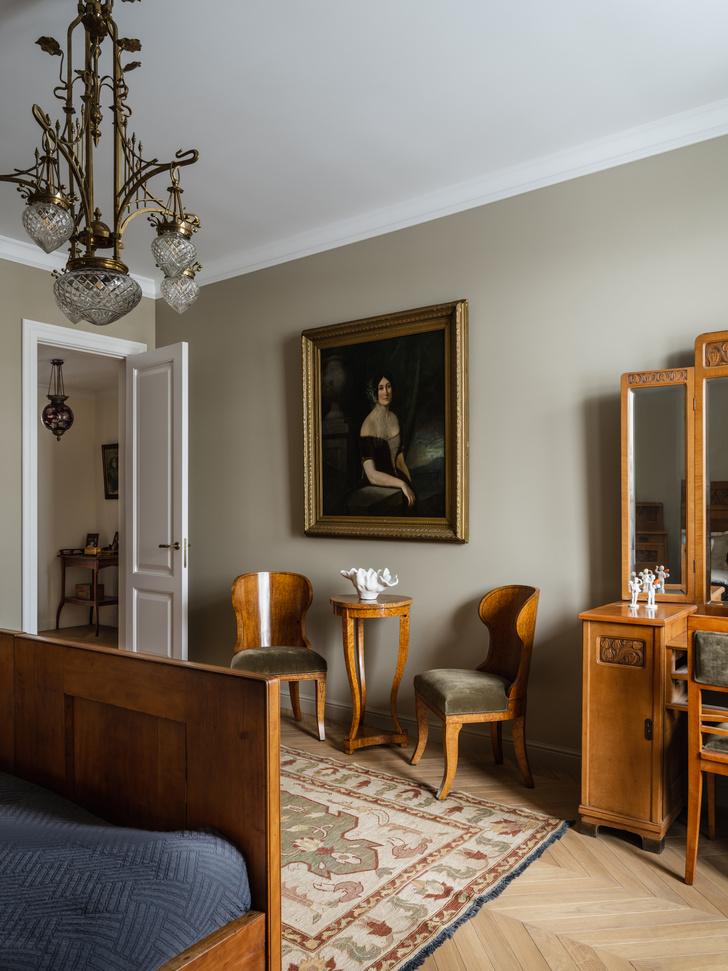 Фото №10 - Эклектичная квартира в центре Москвы: проект декоратора Кати Гердт