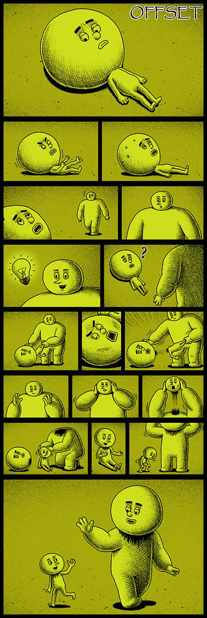 Фото №12 - 30 комиксов с отборным черным юмором от Бена Чена