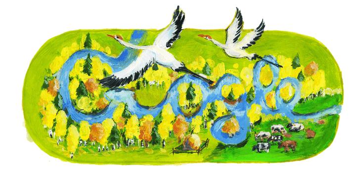 Фото №26 - «Дудл для Google — 2015»: 30 лучших рисунков