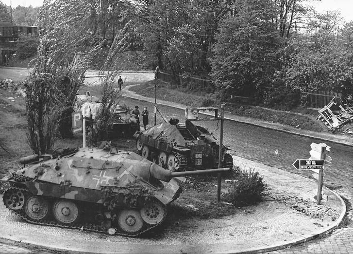 Фото №2 - Маленький гигант большого фронта. История немецкой самоходки «Хетцер»