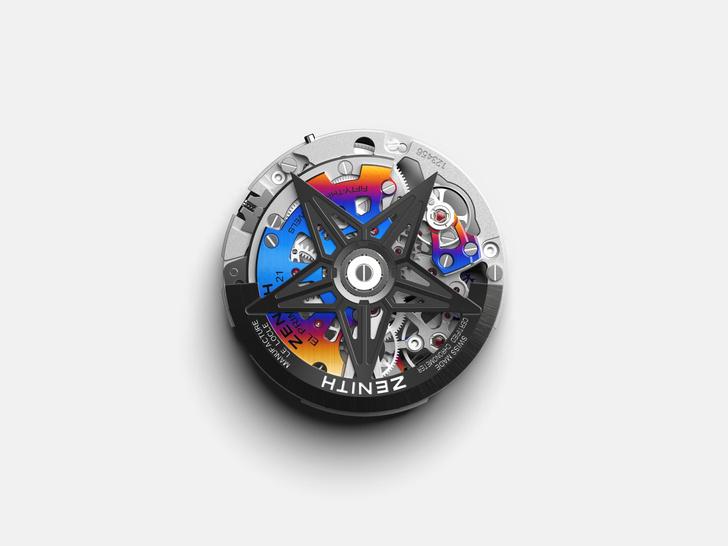 Фото №5 - Красочная новинка: Zenith выпустил яркие часы вместе с Фелипе Пантоне