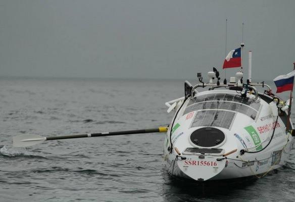 Фото №1 - Конюхов пересекает Тихий океан: день 12-й