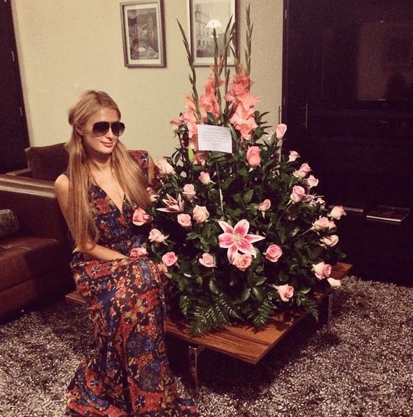 Фото №21 - Звездный Instagram: Знаменитости и цветы