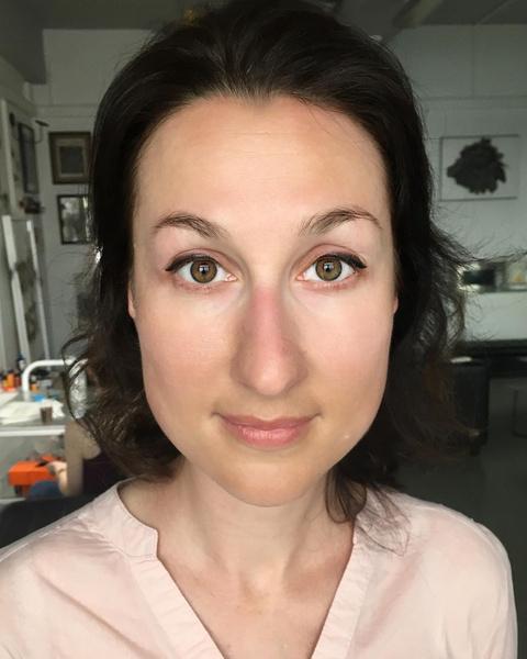 перманентный макияж глаз век стрелка фото до и после
