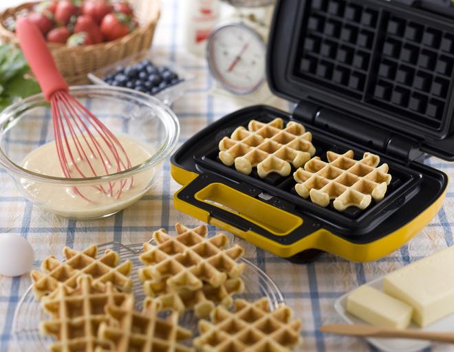 Вафли в вафельнице - 10 рецептов приготовления ...