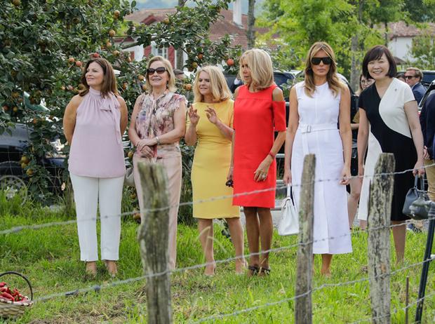 Фото №6 - G7 в Биаррице: как выглядят жены лидеров «Большой семерки»