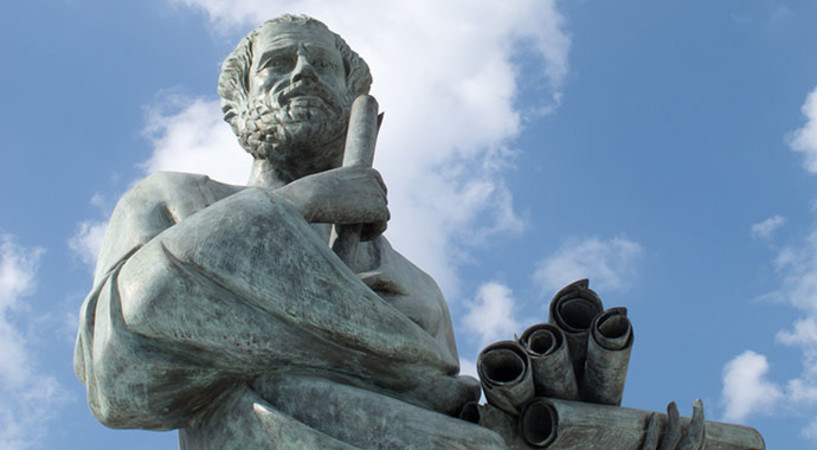 Aristotle, discoverer of science