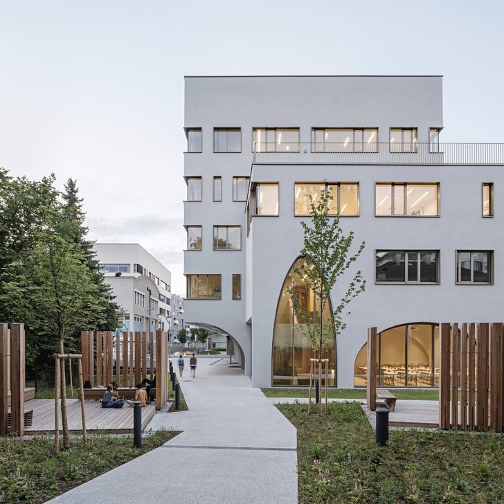 Фото №2 - Новое здание медицинского института в Зальцбурге
