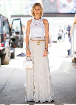 Фото №6 - С чем носить юбки макси: 7 универсальных сочетаний на любой случай