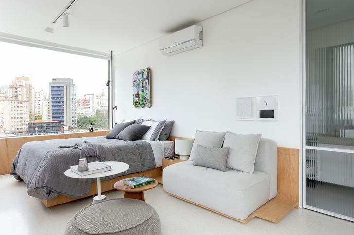 Фото №2 - Светлая квартира 37 м² в Сан-Паулу