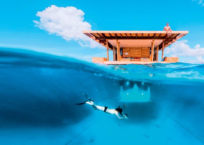 Фото №1 - 25 самых необычных отелей мира
