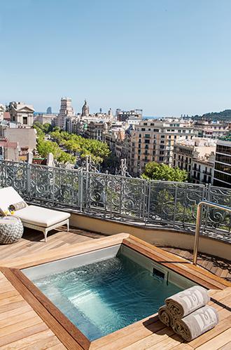 Фото №4 - Вид сверху: самый большой пентхаус в сердце Барселоны