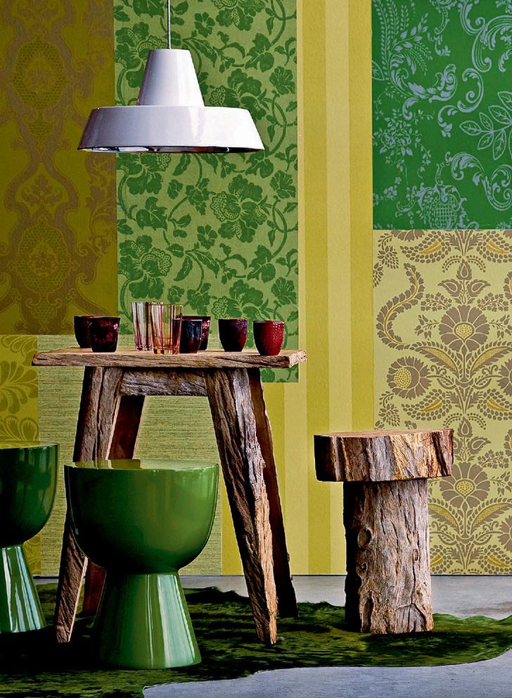 Фото №9 - Зеленый цвет в интерьере: советы по декору