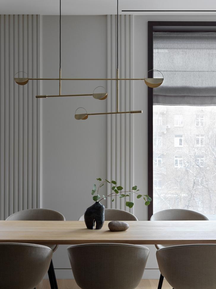 Фото №1 - «Архитектурный» интерьер московской квартиры