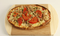 Как приготовить пиццу на хлебе