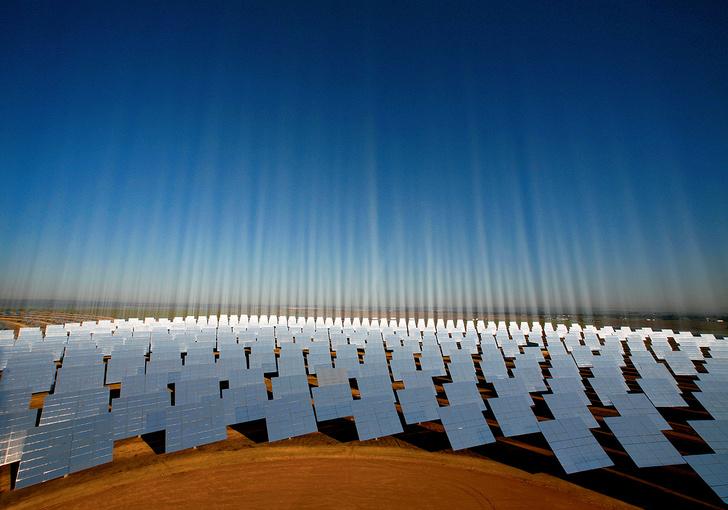 Фото №1 - Испания. Солнечная электростанция