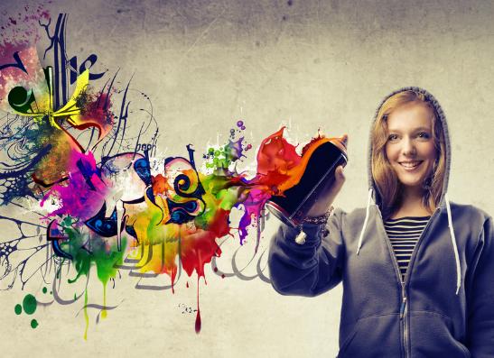 Фото №1 - Марка Calvin Klein объявляет конкурс «Нарисуй граффити – получи AppleiPad»