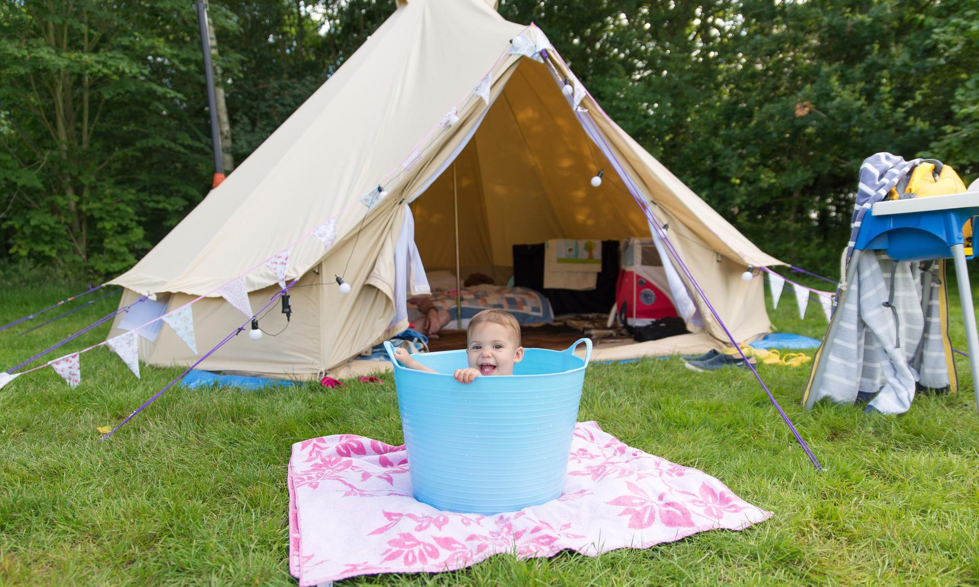 А вы бы рискнули? Отдых в палатке с грудничком: личный опыт