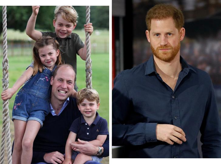 Фото №1 - Почему принц Гарри не увиделся с племянниками, пока был в Англии