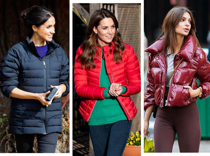 Фото №1 - Как утеплить легкое пальто: 10 уютных курток, как у герцогини Кейт и селебрити