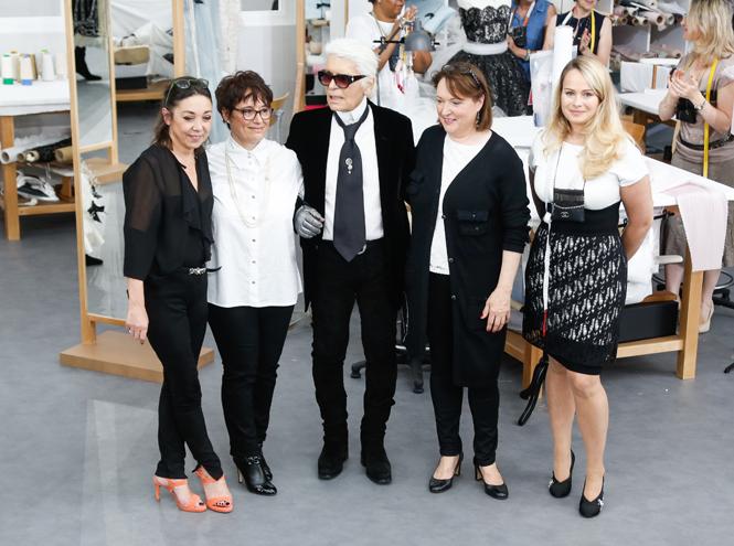 Фото №95 - Швейная мастерская: кутюрный показ Chanel F/W 16-17