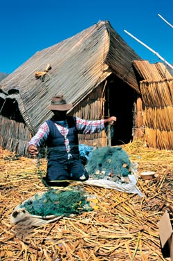 Фото №2 - Тростниковая жизнь на Титикаке