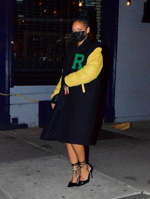 Фото №2 - Девушка рэпера: в чем Рианна ходит на свидания с A$AP Rocky