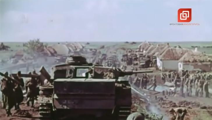 Фото №1 - Ранее неизвестная хроника наступления на Сталинград в цвете. Ее снял оператор вермахта (видео)