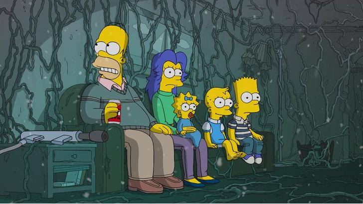 Фото №1 - В хеллоуинском выпуске «Симпсонов» спародировали «Очень странные дела» и «Форму воды» (видео)