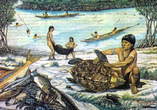 Фото №2 - Аборигены «зеленой ящерицы»