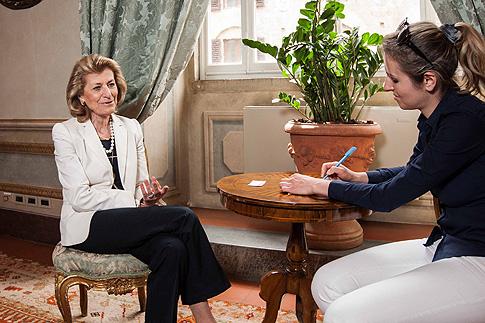 70-летняя Джованна Феррагамо и Светлана Кольчик