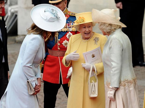 Фото №8 - Самые забавные моменты на королевских свадьбах (истории в фотографиях)