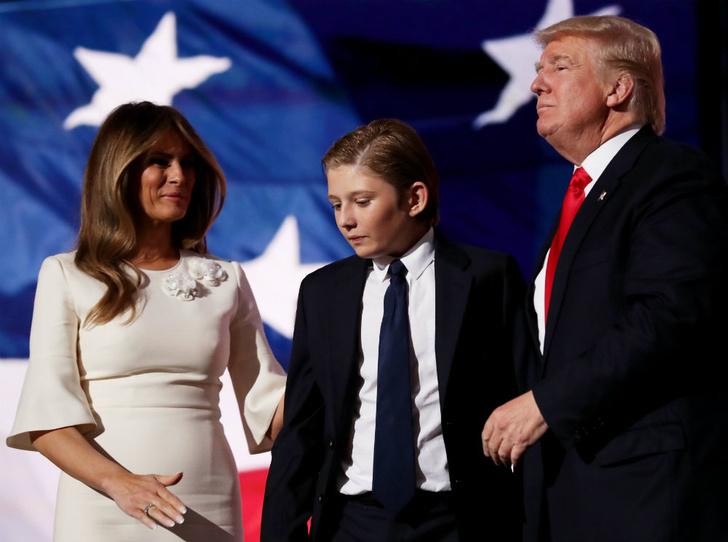 Фото №1 - Почему Мелания и Дональд Трамп не могут договориться о воспитании сына