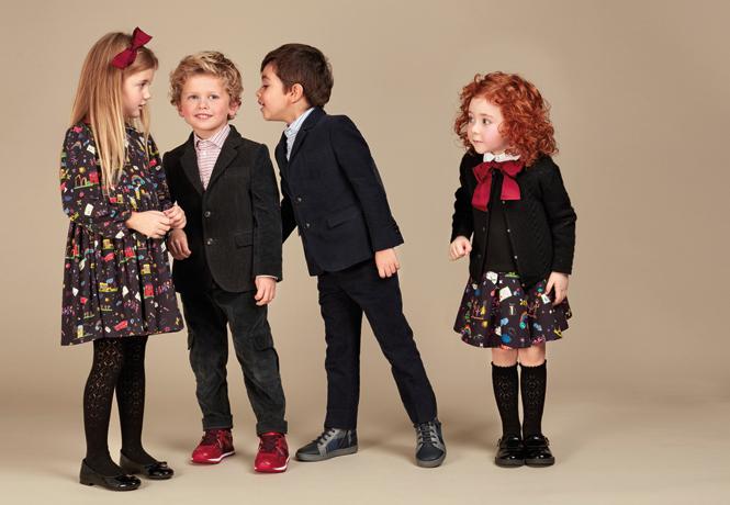 Фото №24 - Модные школьники: детская коллекция Dolce&Gabbana осень-зима 16/17
