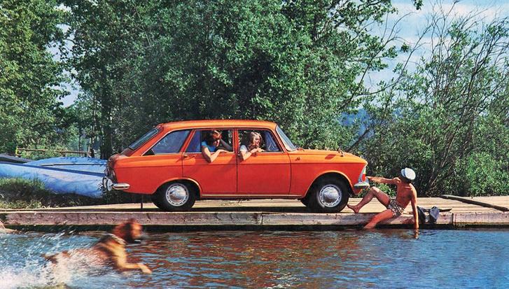 Фото №1 - Первый советский хетчбэк: история «Иж-Комби»