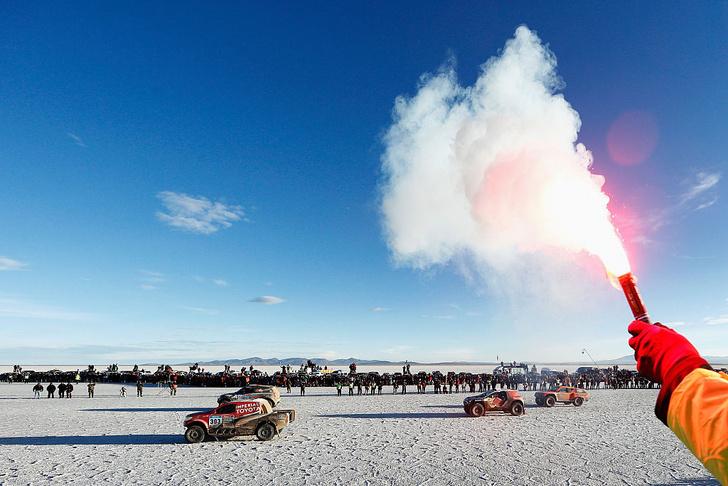 Фото №4 - Быстрее, чем «Формула»: гигантские солончаки как гоночные треки