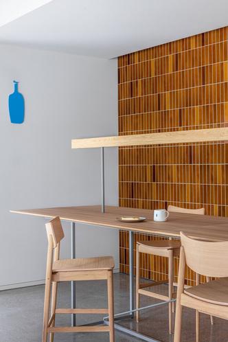 Фото №5 - Минималистское кафе в Токио по проекту Кэйдзи Асизавы