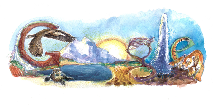 Фото №9 - «Дудл для Google — 2015»: 30 лучших рисунков