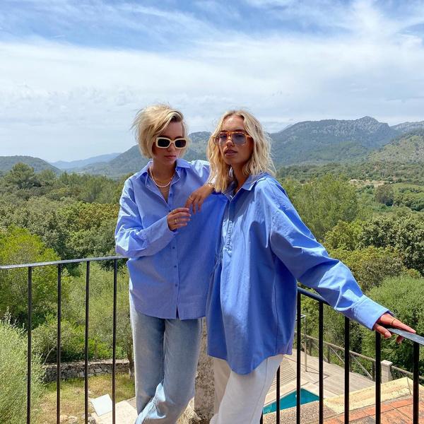 Фото №1 - Как создать модный парный лук с сестрой или подружкой: показывают Лиза и Лена Мантлер