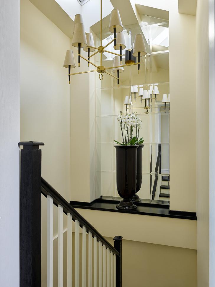 Фото №14 - Двухэтажная квартира 154 м² на Патриарших прудах
