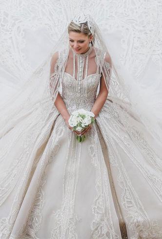 Фото №18 - 10 самых стильных звездных свадеб 2019 года