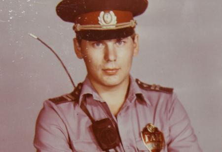 История одной фотографии: младший сержант Юрий «Хой» Клинских на работе, Воронеж, 1980-е