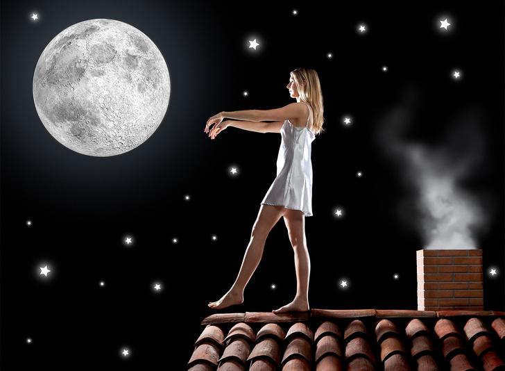 Фото №1 - 5 жутких вещей, которые лунатики могут делать во сне
