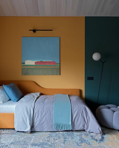 Фото №17 - Дом в Подмосковье 250 м² с камином и большими окнами