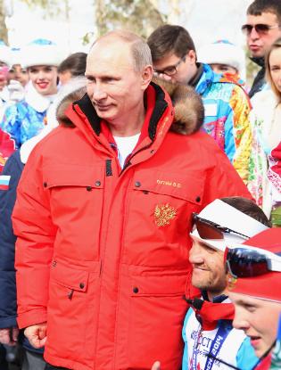 Фото №7 - Пять причин влюбиться в Владимира Путина