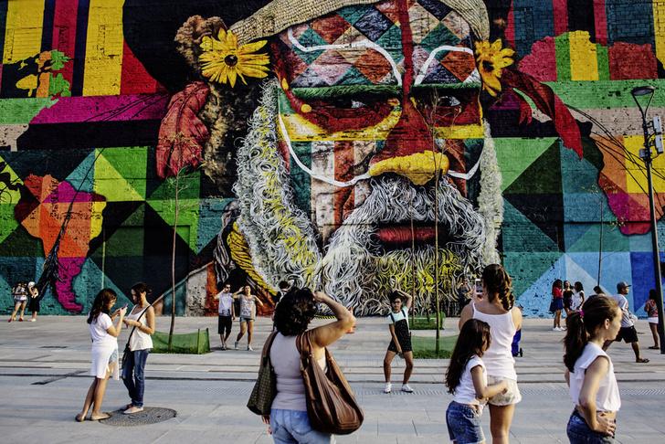 Фото №1 - Краски города: 10 знаменитых граффити