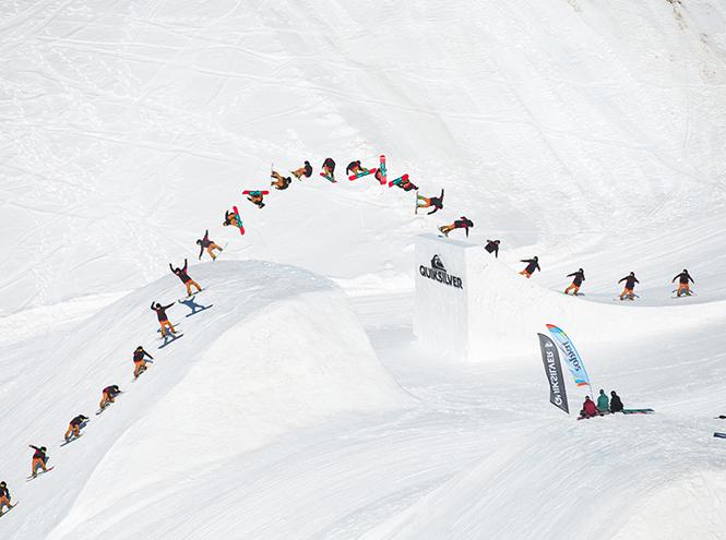 Фото №2 - Сноубордический лагерь Quiksilver New Star Camp 2015