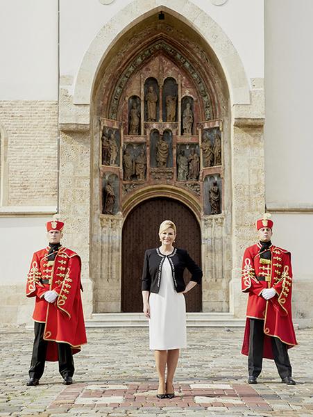 Фото №7 - Колинда Грабар-Китарович: диалог с президентом Хорватии