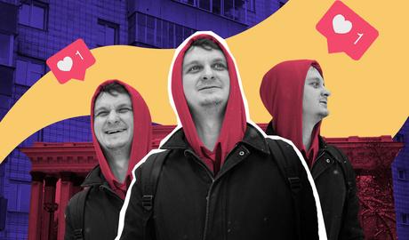«За пару шагов до успеха»: прогулка по центру со стендапером Виталием Косаревым